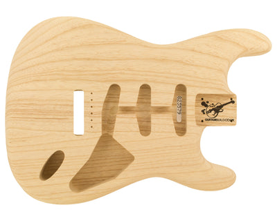 SC BODY 2pc Swamp Ash 1.7 Kg - 823579-Guitar Bodies - In Stock-Guitarbuild