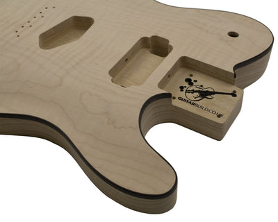 GUITARBUILD TC BODY - LP - carved top - Guitarbuild - 3