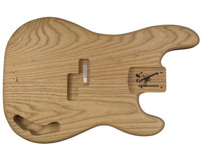 PB BODY 2pc Roasted Swamp Ash 2.2 Kg - 820264-Bass Bodies - In Stock-Guitarbuild