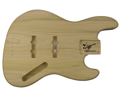 JB BODY 2pc Poplar 2.2 Kg - 817745-Bass Bodies - In Stock-Guitarbuild