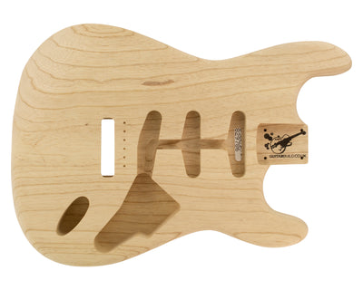 SC BODY 1pc Swamp Ash 1.6 Kg - 829786-Guitar Bodies - In Stock-Guitarbuild