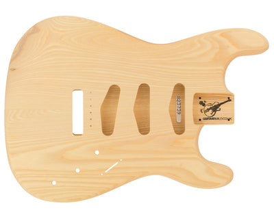 SC BODY 2pc Baseball Bat Ash 2.2 Kg - 823739-Guitar Bodies - In Stock-Guitarbuild