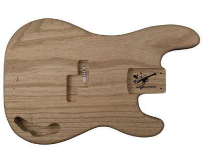 PB BODY 2pc Swamp ash 2.3 Kg - 818322-Bass Bodies - In Stock-Guitarbuild