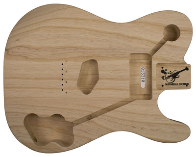TC BODY 3pc Swamp Ash 1.8 Kg - 813310-Guitar Bodies - In Stock-Guitarbuild