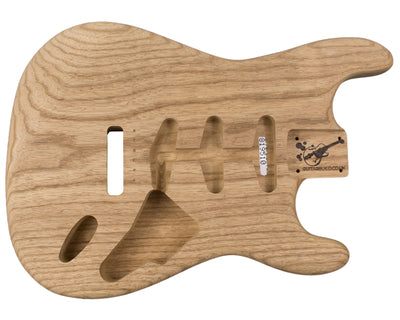 SC BODY 1pc Roasted Swamp Ash 1.5 Kg - 819510-Guitar Bodies - In Stock-Guitarbuild