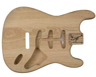 SC BODY 3pc Swamp ash 2.1 Kg - 820523-Guitar Bodies - In Stock-Guitarbuild