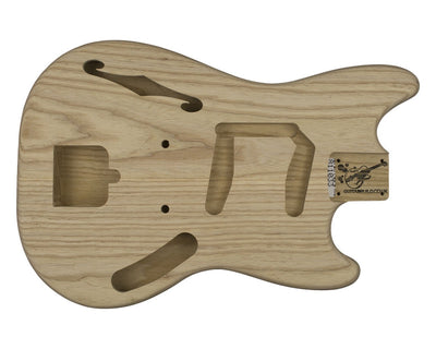 MS Thinline BODY 2 pc Swamp Ash 1.7 KG - 811033-Guitar Bodies - In Stock-Guitarbuild