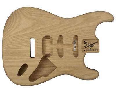 SC BODY 2pc Baseball Bat Ash 2.5 Kg - 821162-Guitar Bodies - In Stock-Guitarbuild
