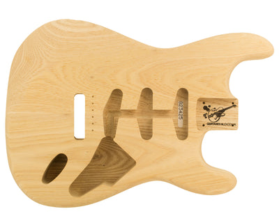 SC BODY 2pc Swamp Ash 2.3 Kg - 823425-Guitar Bodies - In Stock-Guitarbuild