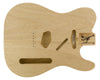 TC BODY 2pc White Limba 2.2 Kg - 830331-Guitar Bodies - In Stock-Guitarbuild