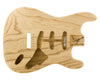 SC BODY 1pc Roasted Swamp Ash 1.5 Kg - 829335-Guitar Bodies - In Stock-Guitarbuild