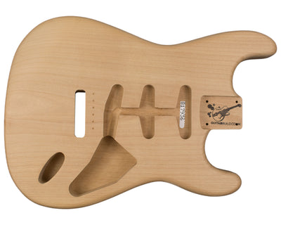 SC BODY 1pc Alder 1.7 Kg - 817936-Guitar Bodies - In Stock-Guitarbuild