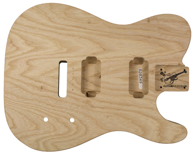 TC BODY 2pc Swamp Ash 1.9 Kg - 820349-Guitar Bodies - In Stock-Guitarbuild