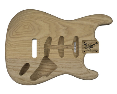 Guitar Bodies - SC BODY 2 pc Swamp Ash 2.1 KG - 809542 - Guitarbuild - 1