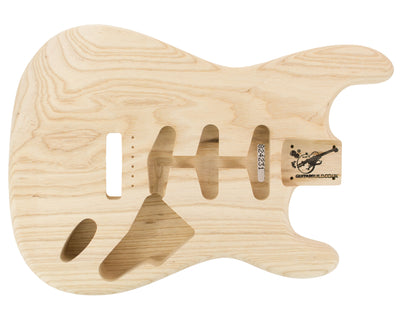 SC BODY 1pc Swamp Ash 1.9 Kg - 824231-Guitar Bodies - In Stock-Guitarbuild