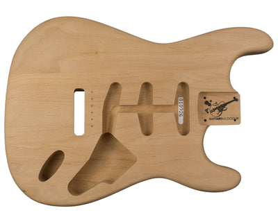 SC BODY 3pc Alder 1.7 Kg - 818926-Guitar Bodies - In Stock-Guitarbuild