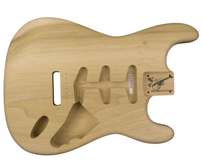 SC BODY 1pc Poplar 1.9 Kg - 820592-Guitar Bodies - In Stock-Guitarbuild