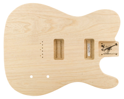 TC BODY 2pc Swamp Ash 2.1 Kg - 829625-Guitar Bodies - In Stock-Guitarbuild
