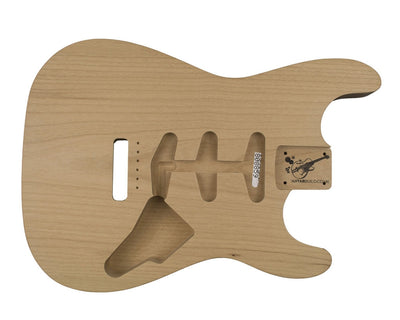 Guitar Bodies - SC BODY 1 pc Alder 1.8 KG - 808859 - Guitarbuild - 1