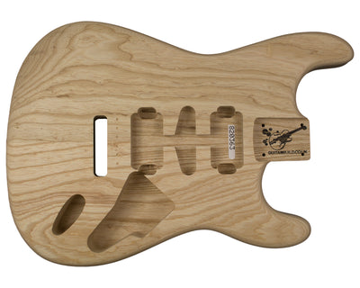 SC BODY 2pc Swamp Ash 1.9 Kg - 820363-Guitar Bodies - In Stock-Guitarbuild