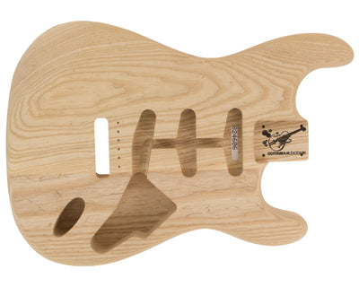 SC BODY 2pc Swamp Ash 1.9 Kg - 824606-Guitar Bodies - In Stock-Guitarbuild