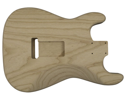 Guitar Bodies - SC Vintage  BODY 1 pc Swamp Ash 1.9 KG - 808071 - Guitarbuild - 2