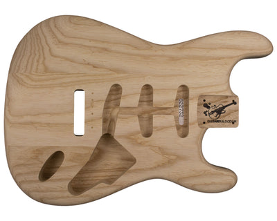 SC BODY 3pc Swamp ash 1.8 Kg - 822732-Guitar Bodies - In Stock-Guitarbuild