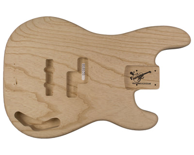 PJ BODY 2pc Swamp ash 1.8 Kg - 818131-Bass Bodies - In Stock-Guitarbuild