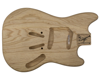 MS BODY 3pc Swamp ash 1.7 Kg - 821278-Guitar Bodies - In Stock-Guitarbuild