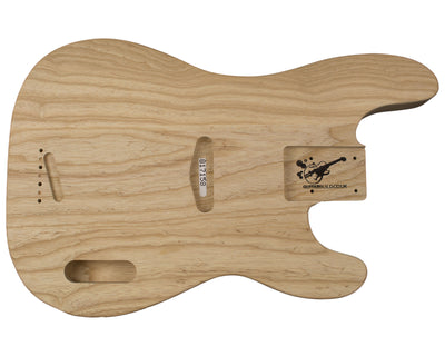 PB BODY 3pc Swamp ash 2.5 Kg - 817158-Bass Bodies - In Stock-Guitarbuild