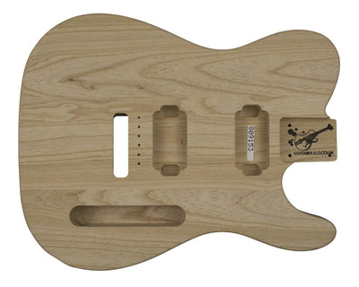 Guitar Bodies - TC HH BODY 3 pc Swamp Ash 1.7 KG - 809153 - Guitarbuild - 1