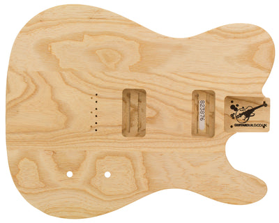 TC BODY 3pc Swamp Ash 2.4 Kg - 823876-Guitar Bodies - In Stock-Guitarbuild