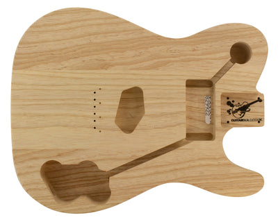 TC BODY 3pc Swamp Ash 1.9 Kg - 829922-Guitar Bodies - In Stock-Guitarbuild