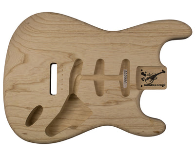SC BODY 1pc Swamp Ash 1.6 Kg - 822008-Guitar Bodies - In Stock-Guitarbuild