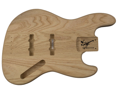 JB BODY 3pc Swamp ash 2.4 Kg - 817622-Bass Bodies - In Stock-Guitarbuild