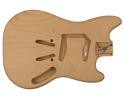 MS BODY 2pc Alder 1.9 Kg - 821292-Guitar Bodies - In Stock-Guitarbuild