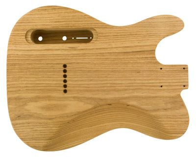 TC SS BODY - carved top + contours 1pc Roasted Swamp Ash 2.2 Kg - 830430-Guitar Bodies - In Stock-Guitarbuild