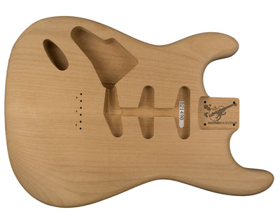 SC BODY 2pc Alder 1.8 Kg - 821490-Guitar Bodies - In Stock-Guitarbuild
