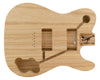 TC BODY - Deluxe 3pc Swamp Ash 1.8 Kg - 829960-Guitar Bodies - In Stock-Guitarbuild