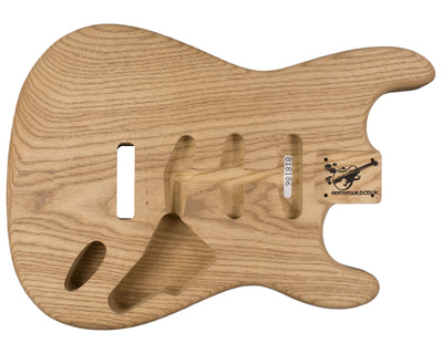 SC BODY 1pc Roasted Swamp Ash 1.7 Kg - 818186-Guitar Bodies - In Stock-Guitarbuild