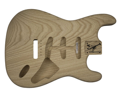 Guitar Bodies - GUITARBUILD SC Vintage BODY 1 pc Swamp Ash 2.0 KG - 809207 - Guitarbuild - 1