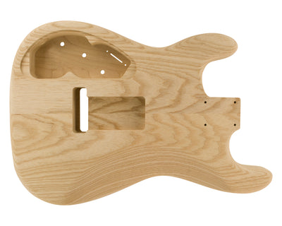 SC SSS BODY - NSP 2pc Swamp Ash (Curly Maple Top) 1.9 Kg - 829236-Guitar Bodies - In Stock-Guitarbuild