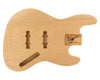 JB BODY 3pc Swamp Ash 2.2 Kg - 826990-Bass Bodies - In Stock-Guitarbuild