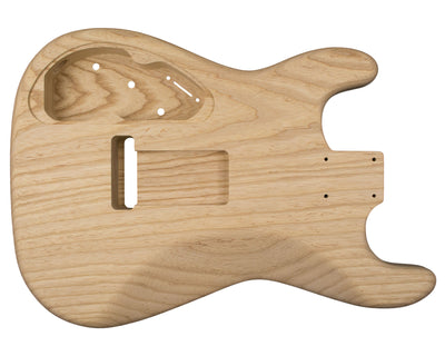 SC BODY 1pc Swamp ash 1.9 Kg - 820738-Guitar Bodies - In Stock-Guitarbuild