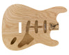 SC SSS BODY - 1960's 2pc Swamp Ash 1.8 Kg - 832007-Guitar Bodies - In Stock-Guitarbuild