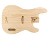 PB BODY 2pc Swamp Ash 2.4 Kg - 829755-Bass Bodies - In Stock-Guitarbuild