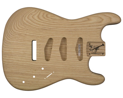 SC BODY 1pc Swamp ash 1.9 Kg - 820752-Guitar Bodies - In Stock-Guitarbuild