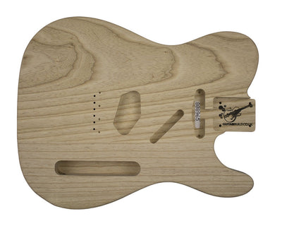Guitar Bodies - GUITARBUILD TC BODY Vintage 2 pc Swamp Ash 2.2 KG 808965 - Guitarbuild - 1