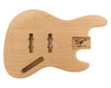 JB BODY 3pc Swamp Ash 2.2 Kg - 828529-Bass Bodies - In Stock-Guitarbuild