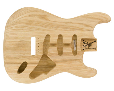 SC BODY 3pc Swamp Ash 1.6 Kg - 826068-Guitar Bodies - In Stock-Guitarbuild